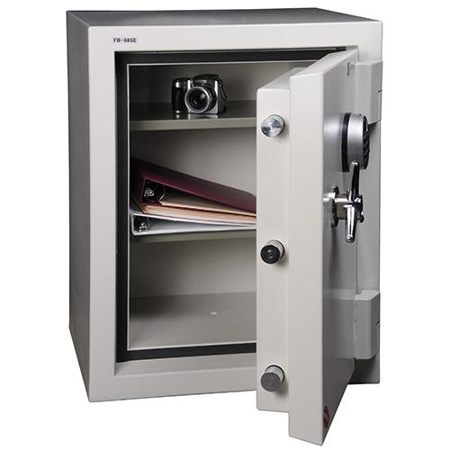 Fire and Burglary Safe White. Picture 2