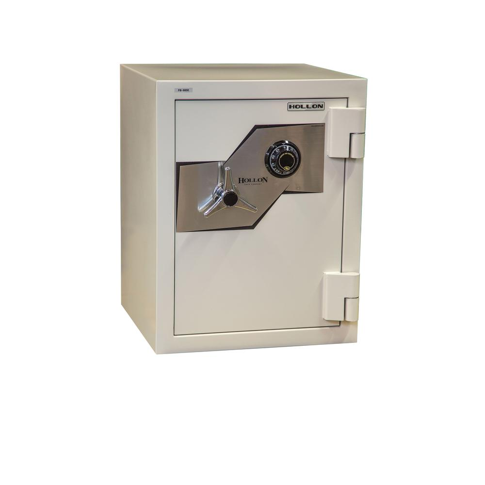 Fire and Burglary Safe White. Picture 1