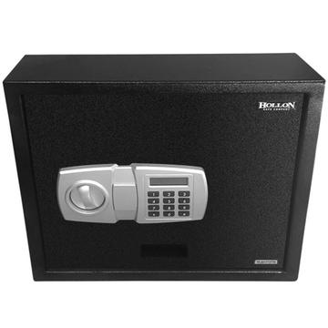 Pistol Safe Black. The main picture.