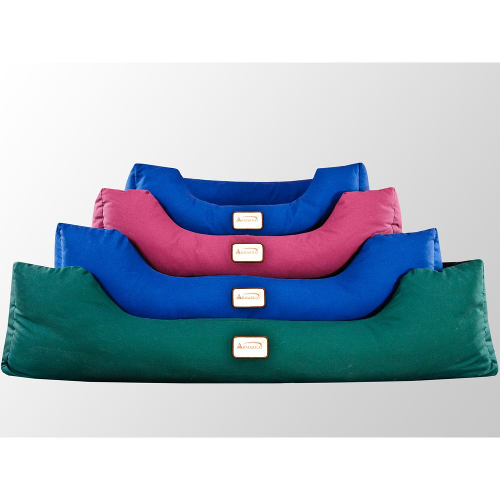 Armarkat Model D01FML-M Medium Laurel Green Bolstered Pet Bed. The main picture.