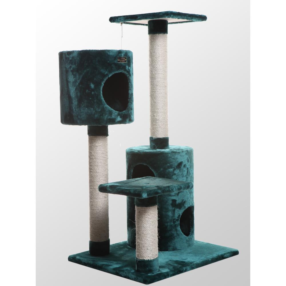 Armarkat Classic Cat Tree Model A4301, Dark Green  Classic Model A4301. The main picture.