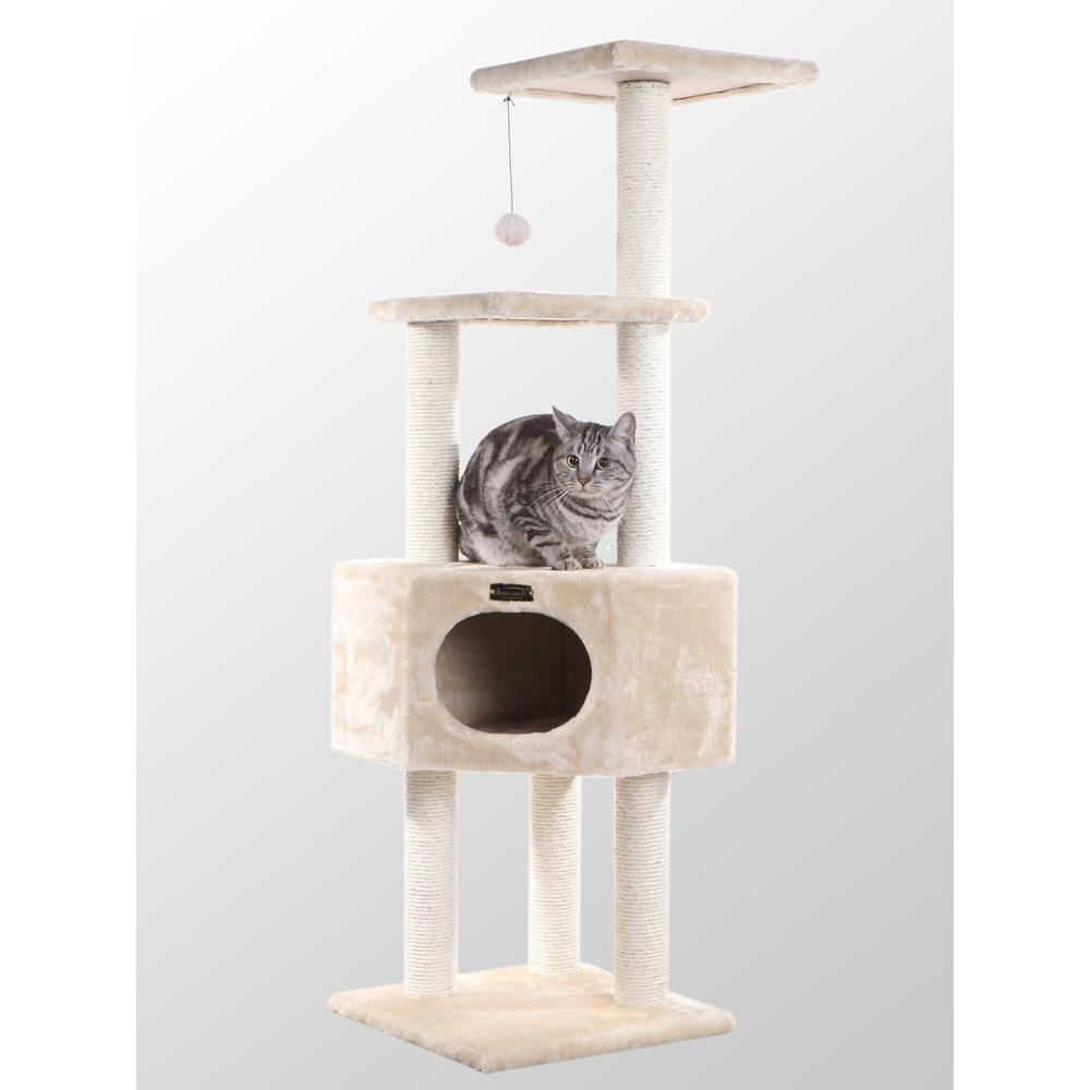 Armarkat Classic Cat Tree Model A5201, Beige  Classic Model A5201. The main picture.
