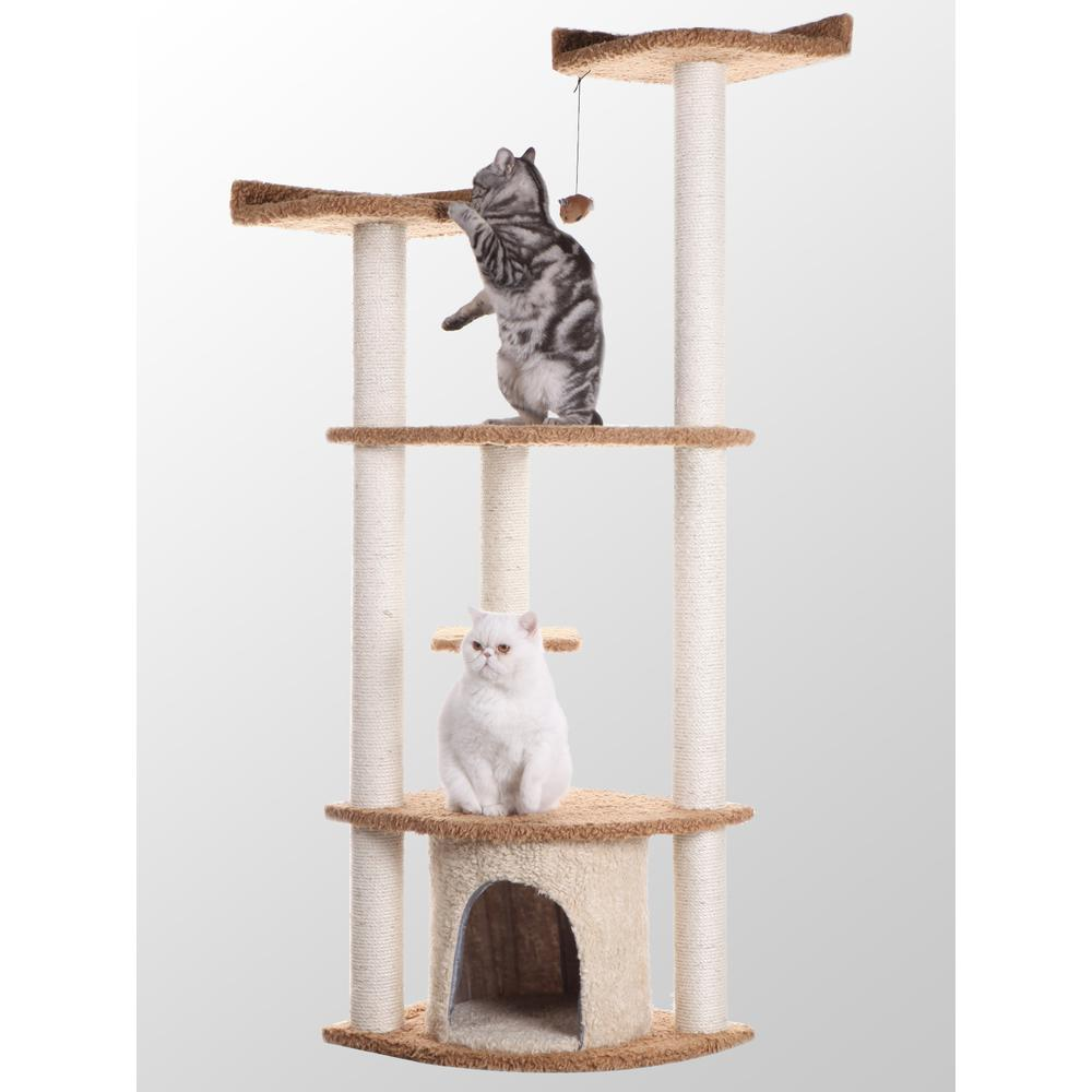 Armarkat Classic Cat Tree Model A6402  Classic Model A6402. The main picture.