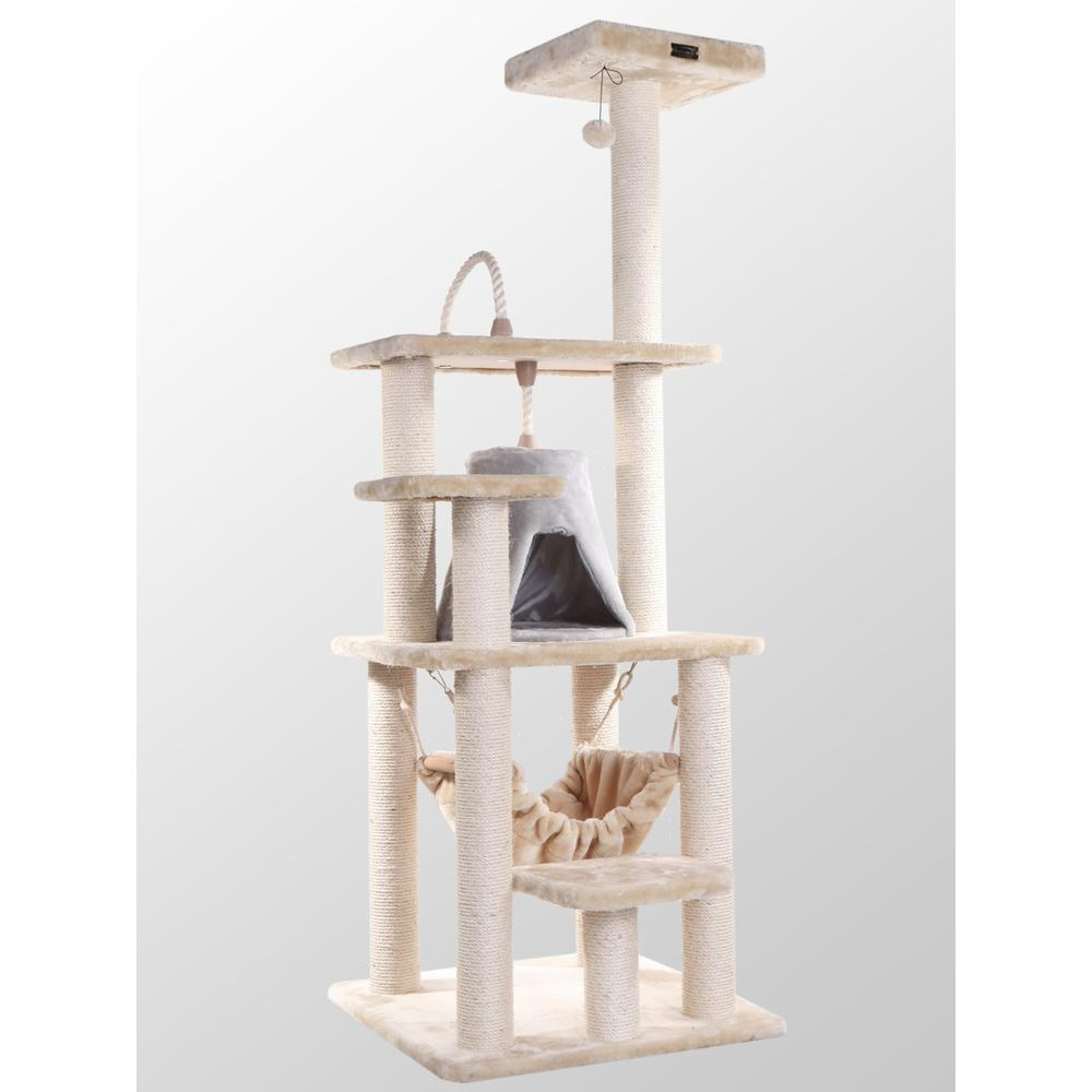 Armarkat Classic Cat Tree Model A6501, Beige  Classic Model A6501. The main picture.