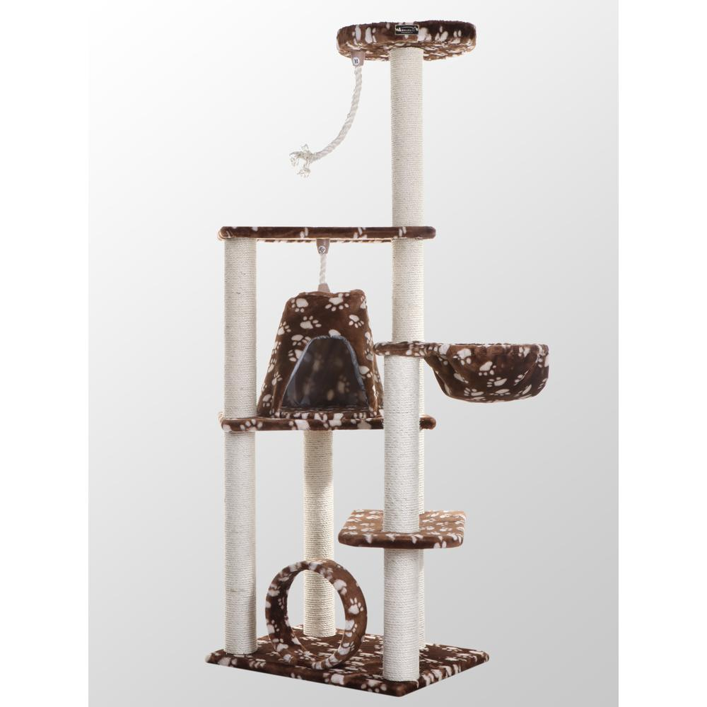 Model A6601 Classic Cat Tree with Four Play Features, Jackson Galaxy Approved. Picture 1