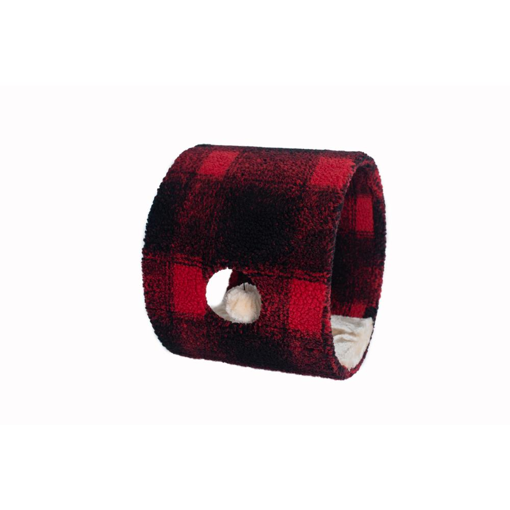 Armarkat Model B1601 Cat Hideaway Tunnel, Scotch Plaid. Picture 4