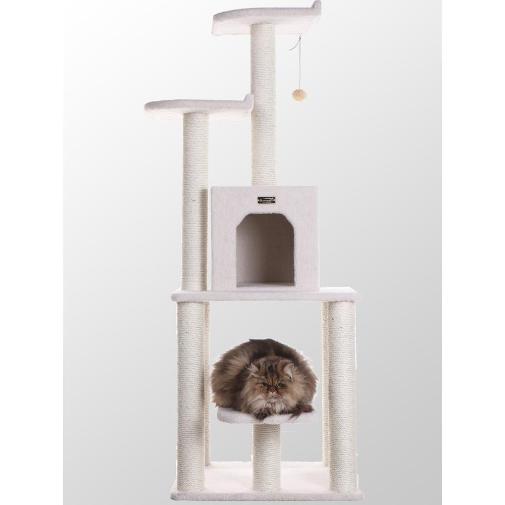 Armarkat Model B6203 Classic Cat Tree, Jackson Galaxy Approved, Five Levels with Condo and Two Perches. Picture 1