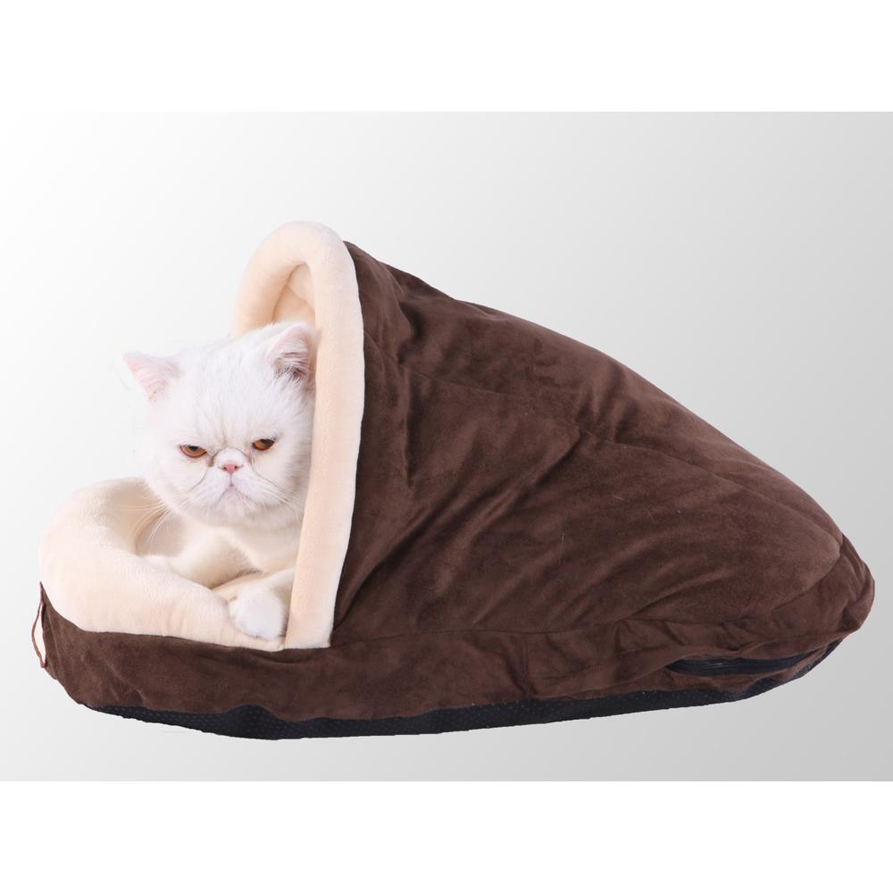 Armarkat Pet Bed Model C05HKF/MH      Mocha. The main picture.