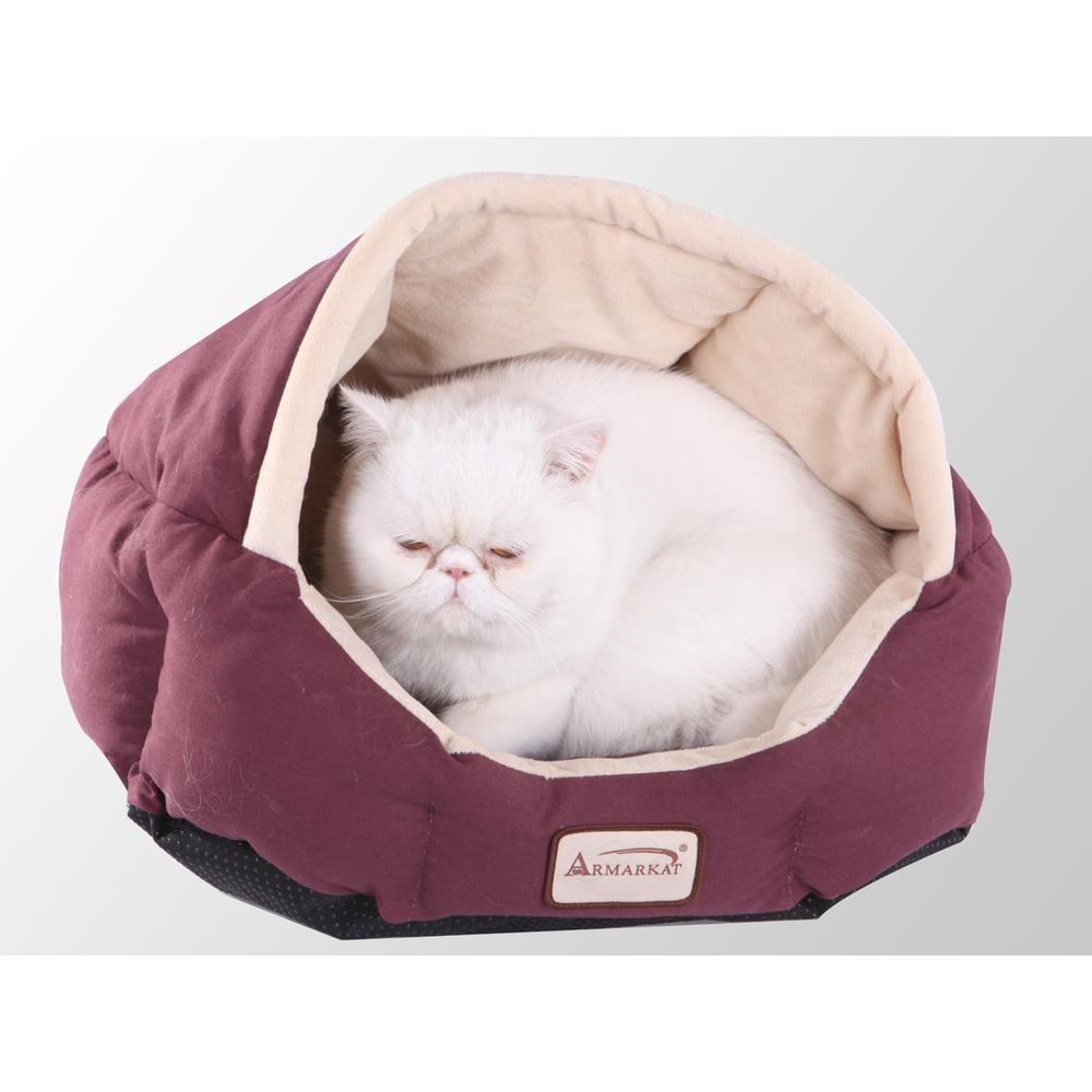 Armarkat Cat Bed Model C08HJH/MH              Beige. Picture 1
