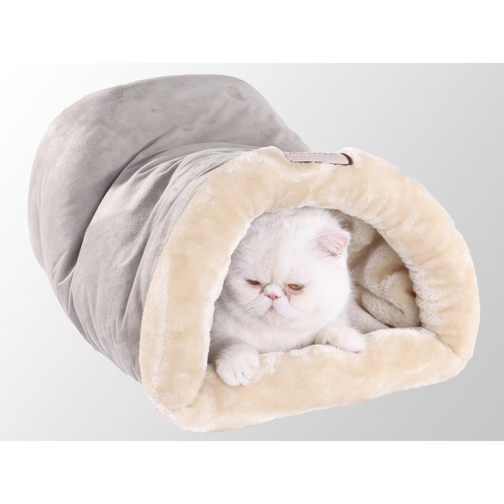 Armarkat Cat Bed Model C15HHL/MH          Sage Green & Beige. The main picture.