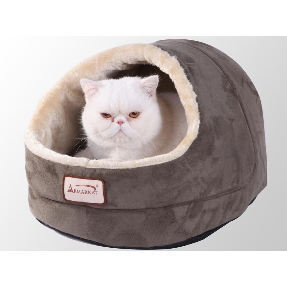 Armarkat Cat Bed Model C18HML/MH        Laurel Green. Picture 1