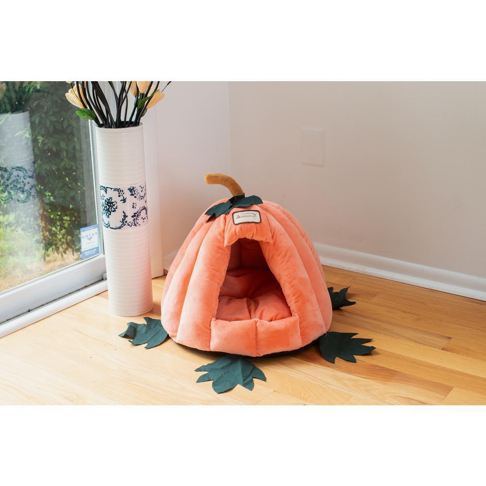 Armarkat Cat Bed Model C85CCS Pumpkin Shape. Picture 6
