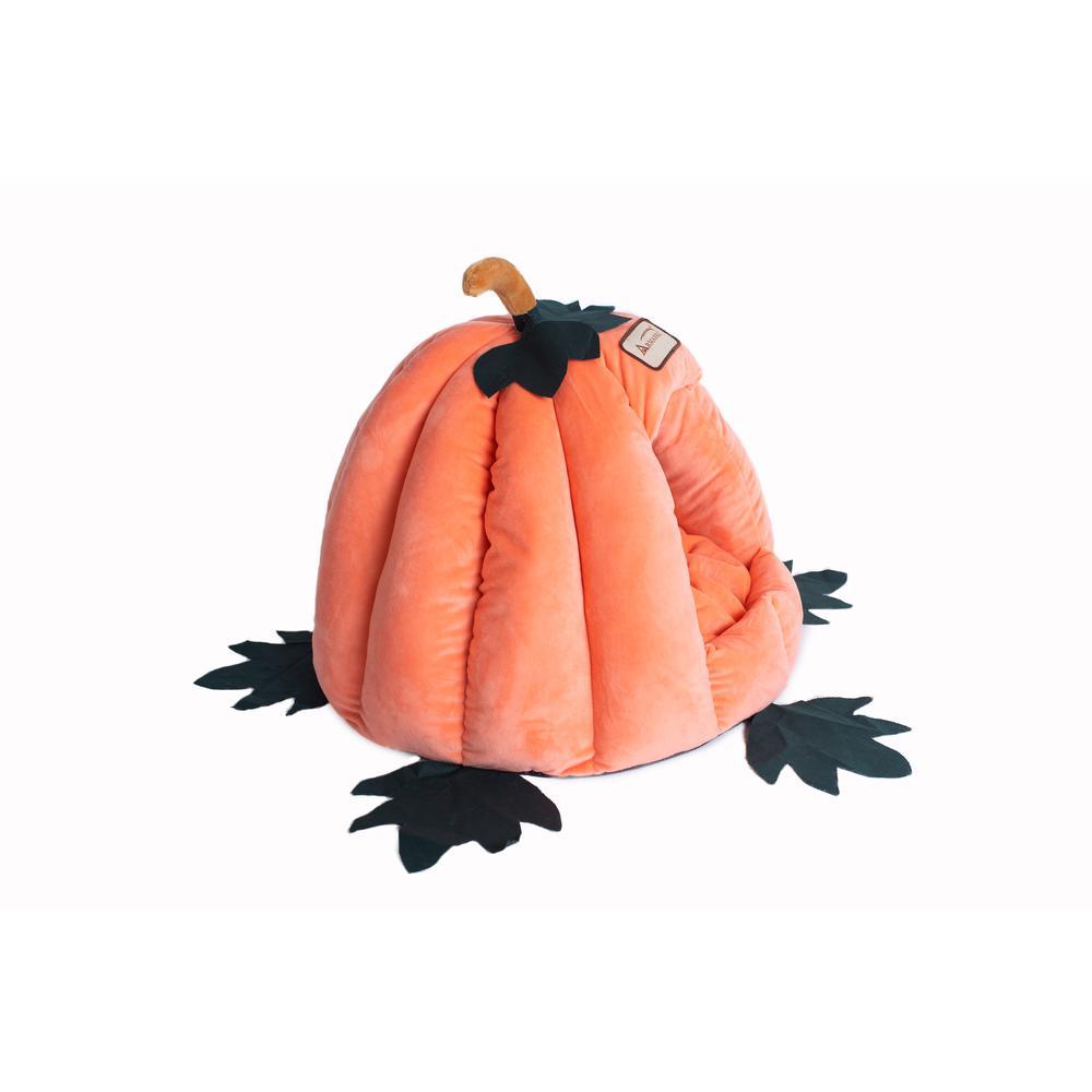 Armarkat Cat Bed Model C85CCS Pumpkin Shape. Picture 4