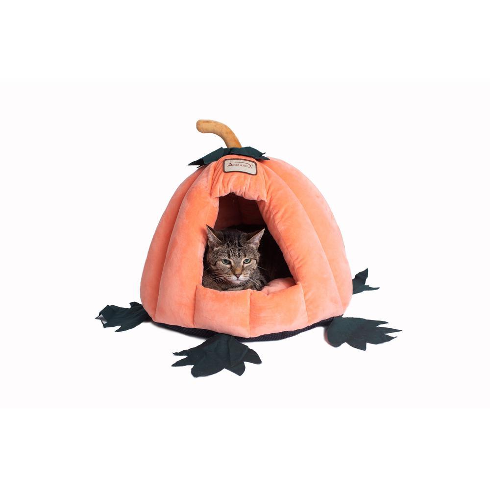 Armarkat Cat Bed Model C85CCS Pumpkin Shape. Picture 5
