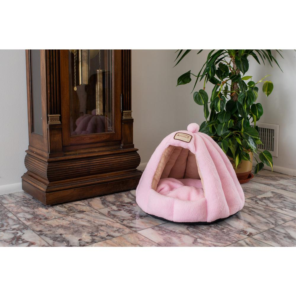 Armarkat Cat Bed Model C95GFS Soft Pink. Picture 2