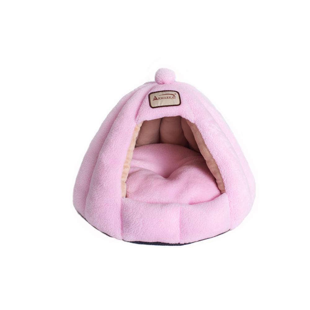 Armarkat Cat Bed Model C95GFS Soft Pink. Picture 1