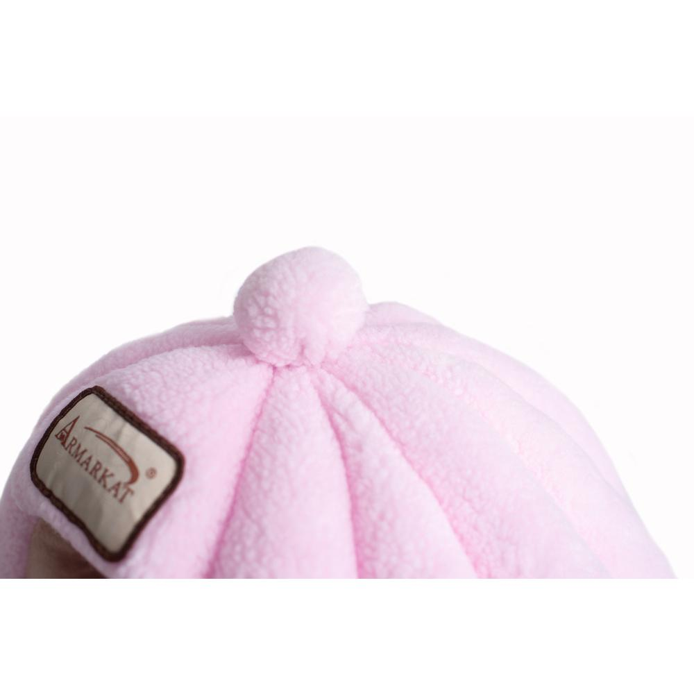 Armarkat Cat Bed Model C95GFS Soft Pink. Picture 5