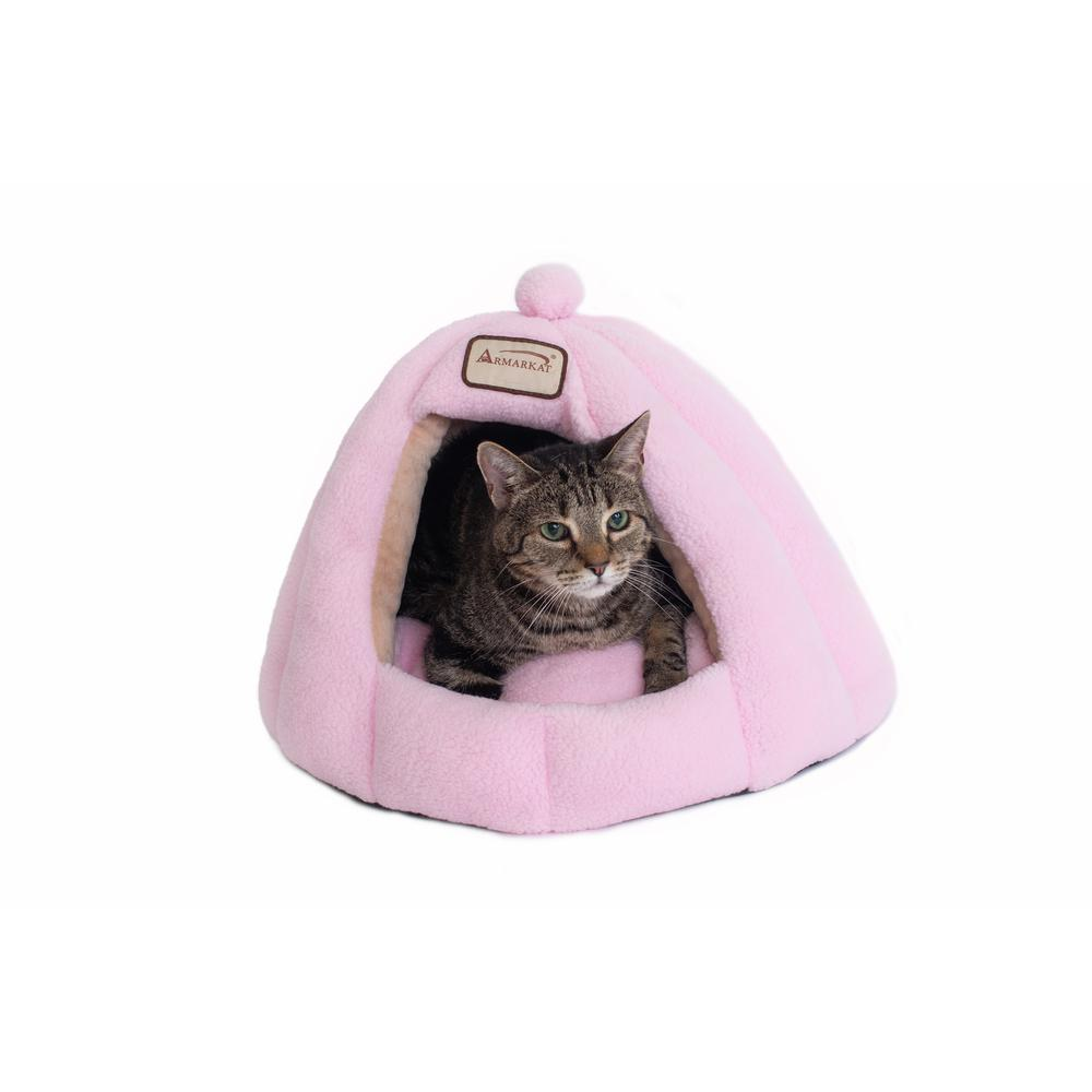 Armarkat Cat Bed Model C95GFS Soft Pink. Picture 3