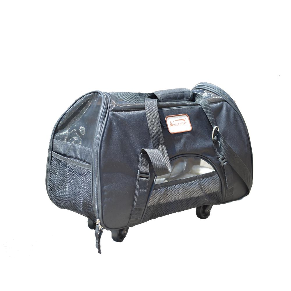 Armarkat Roll-Away Pet Carrier, PC101B. Picture 1