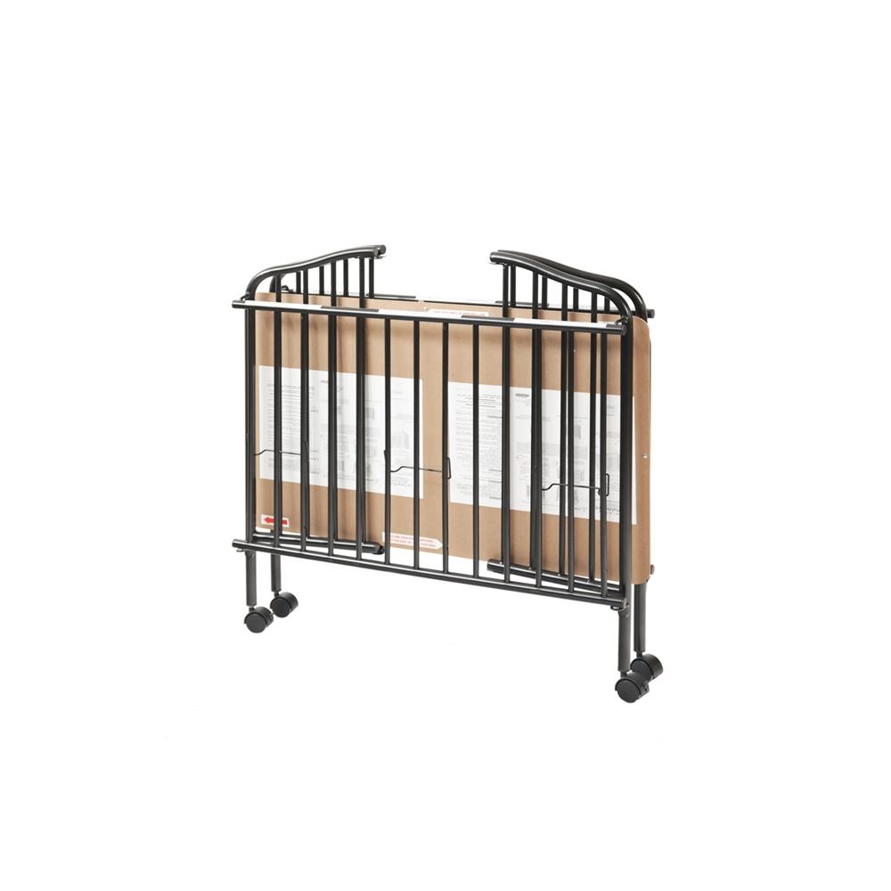 Mini/Portable/Compact Crib, Black. Picture 4