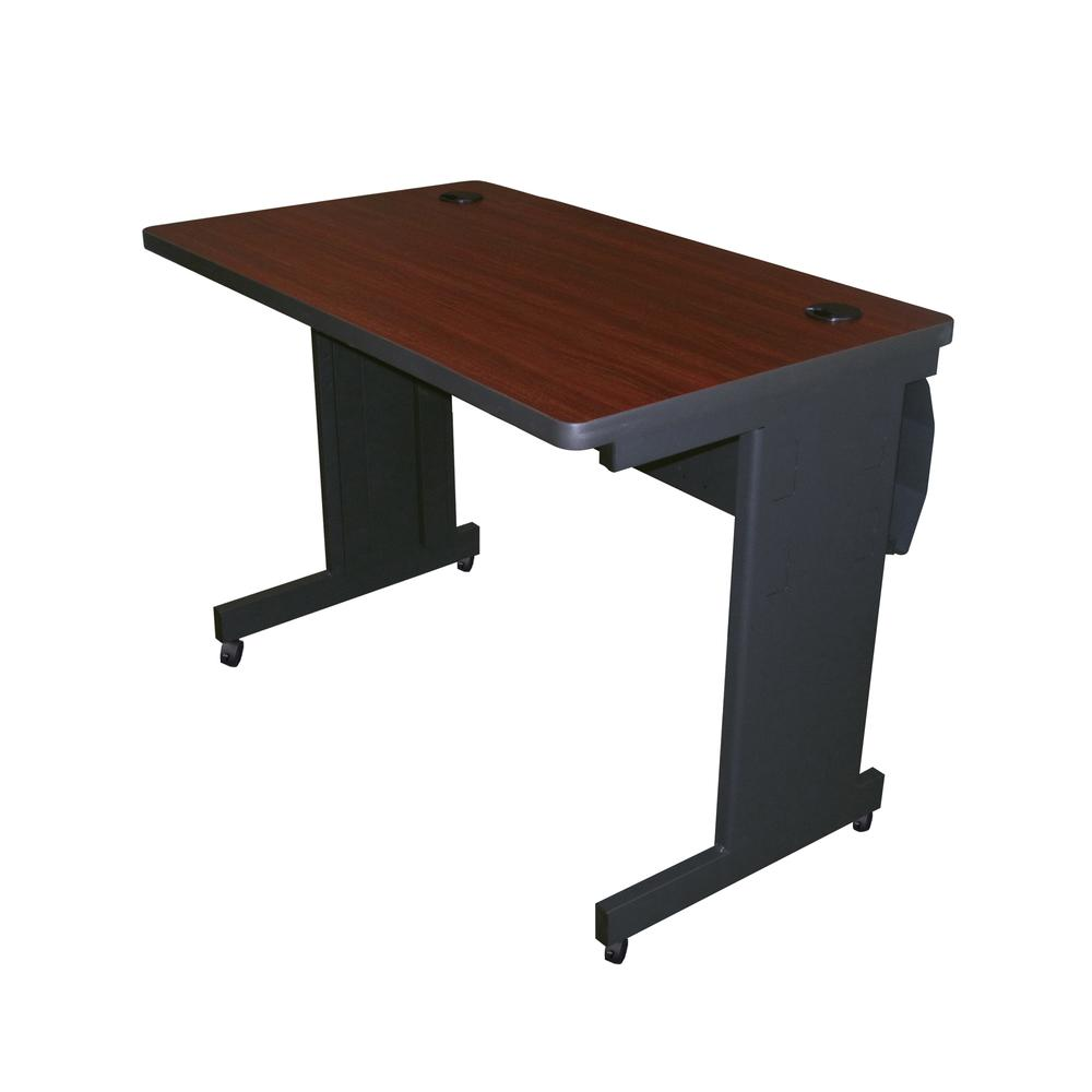 Pronto Mobile Training Table with Lockable Raceway, 42W x 24D. Picture 1