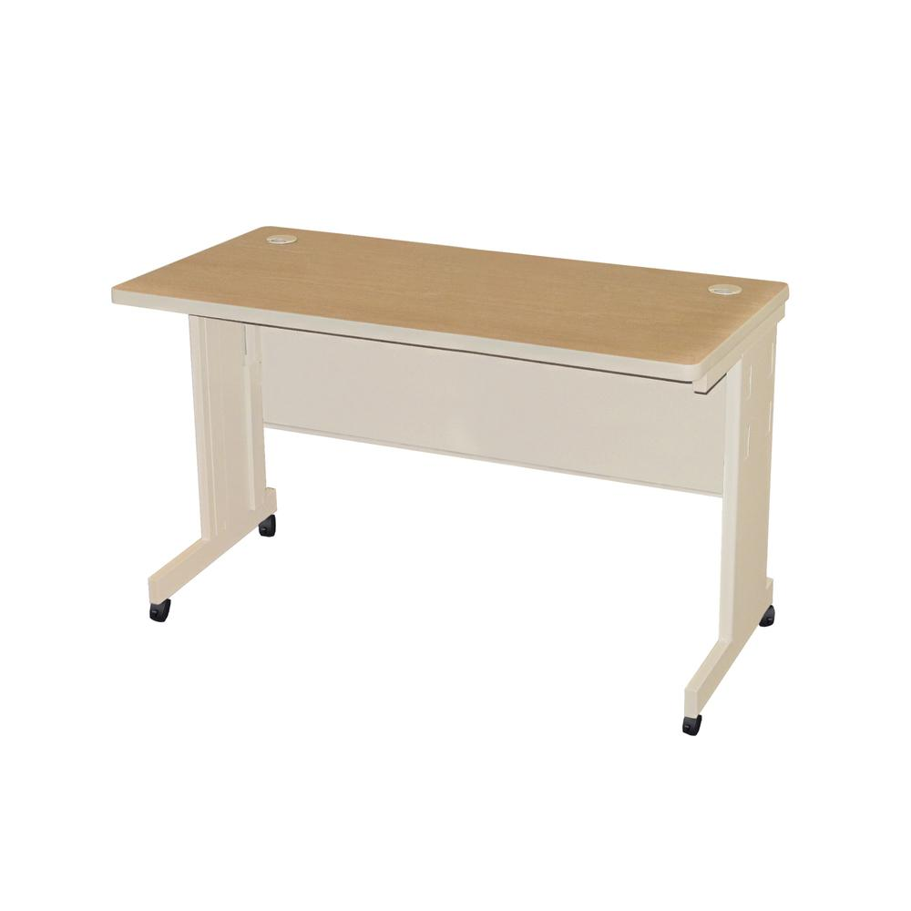 Pronto Mobile Training Table with Modesty Panel Back, 60W x 30D. Picture 1