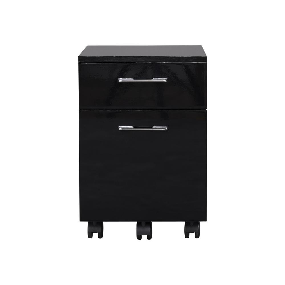 231 Mobile Pedestal Black. Picture 3