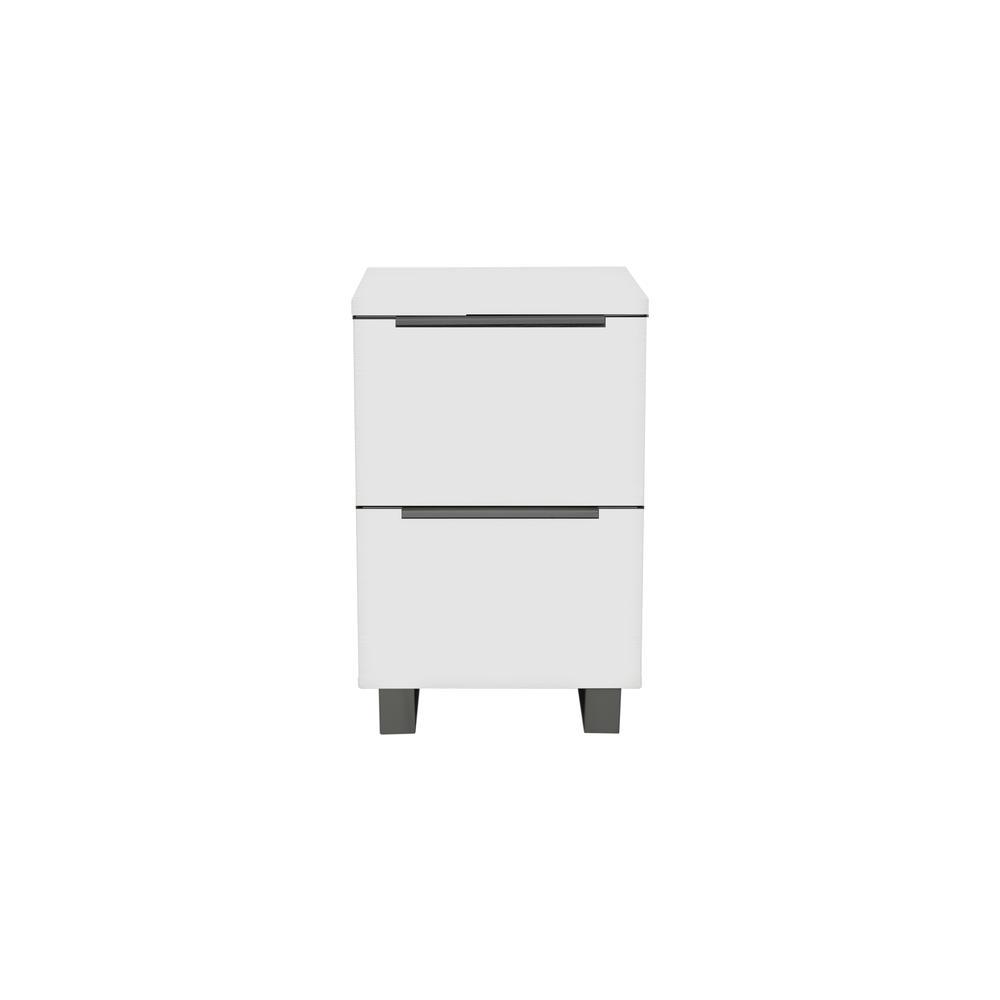 White K/19/20/2 2 Drw. File Cabinet. Picture 1