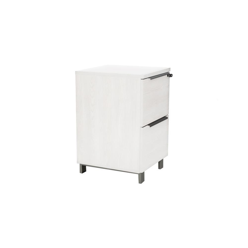 White K/19/20/2 2 Drw. File Cabinet. Picture 2