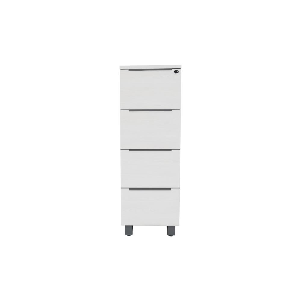 White K/19/20/4 4 Drw. File Cabinet. Picture 2