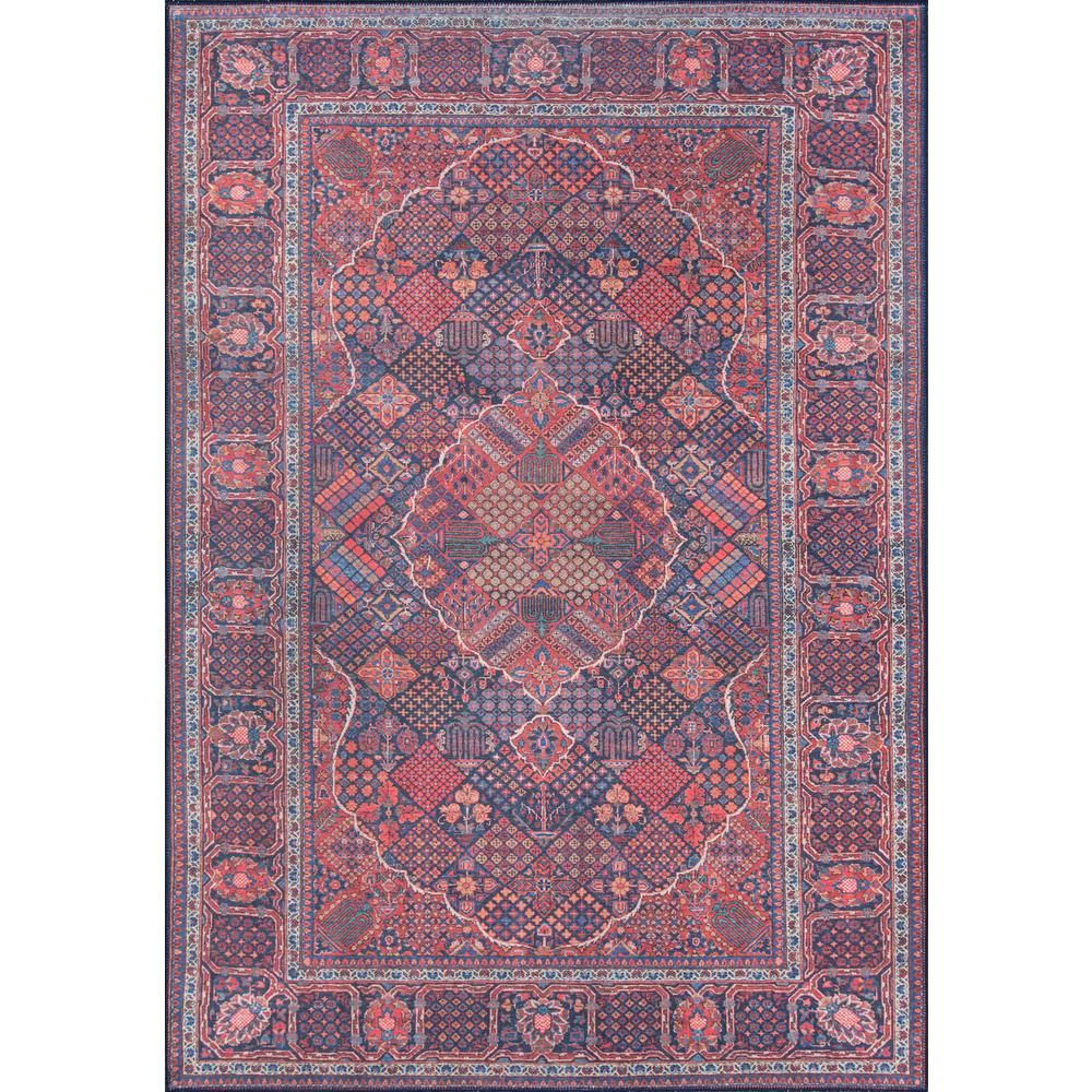 "Afshar Area Rug, Navy, 2'3"" X 7'6"" Runner. Picture 1"