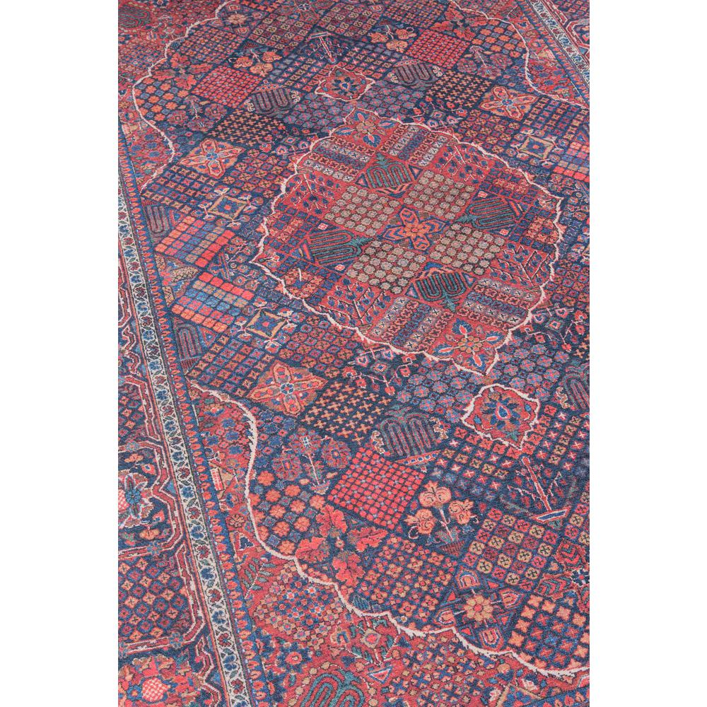 "Afshar Area Rug, Navy, 2'3"" X 7'6"" Runner. Picture 2"