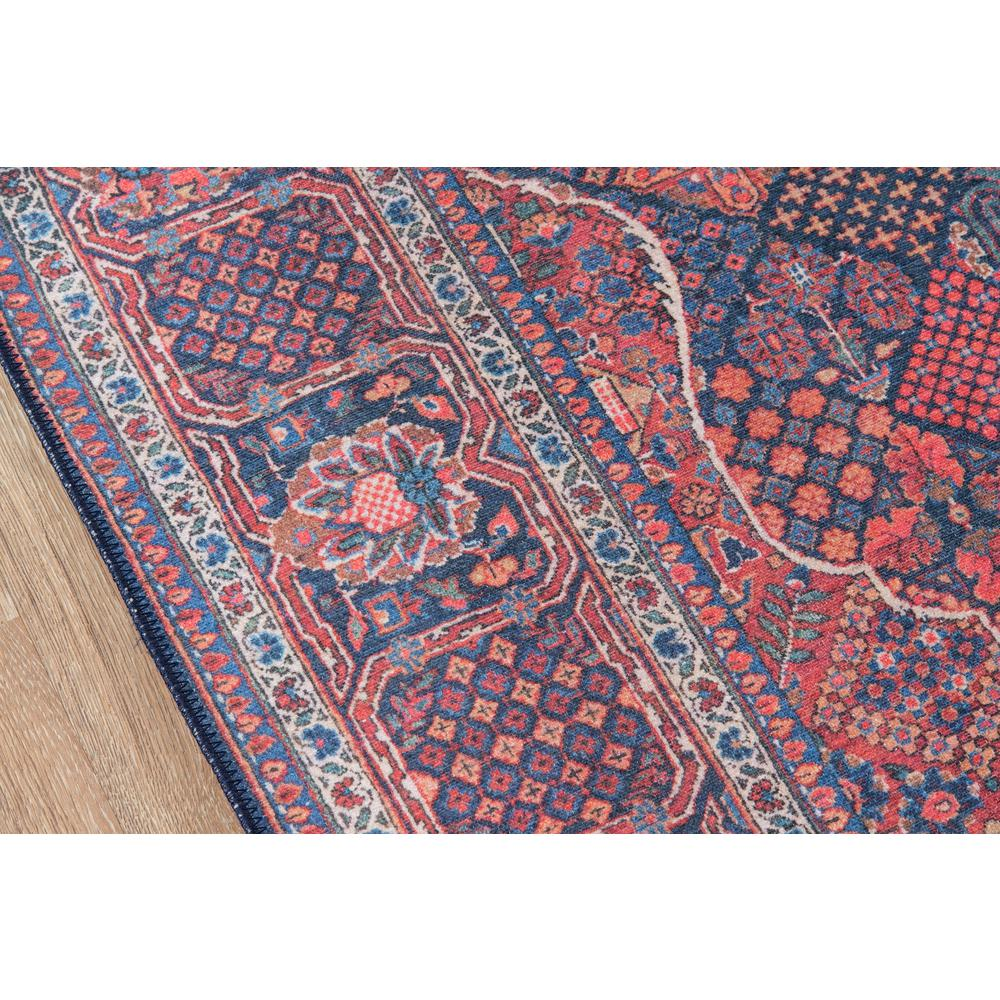 "Afshar Area Rug, Navy, 2'3"" X 7'6"" Runner. Picture 3"