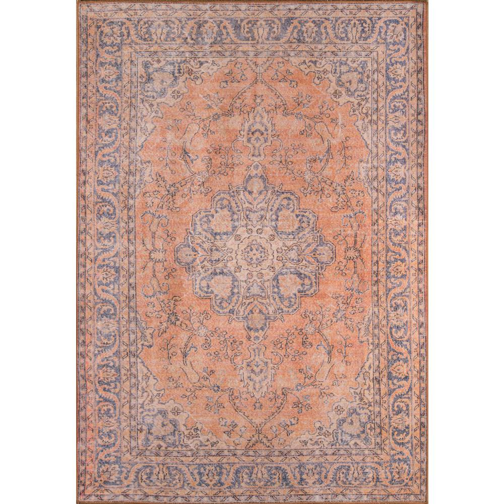 "Afshar Area Rug, Copper, 2'3"" X 7'6"" Runner. Picture 1"