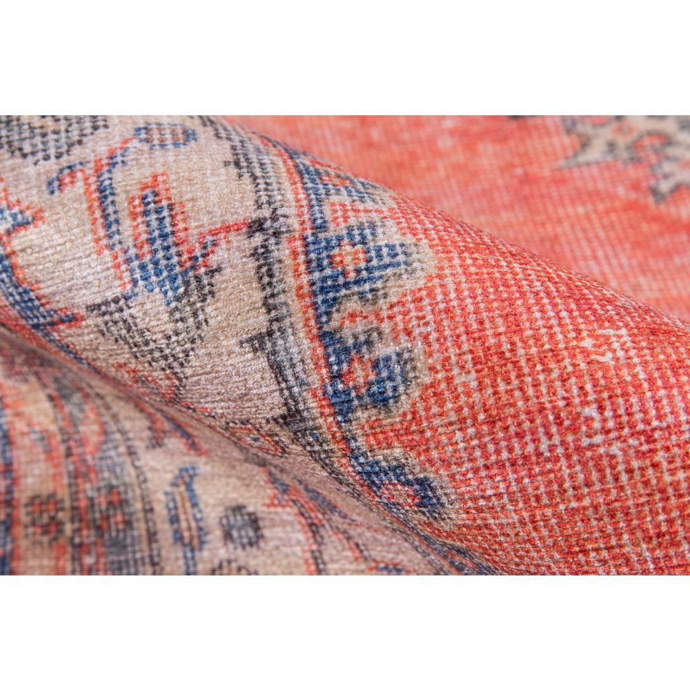 """Afshar Area Rug, Red, 2'3"""" X 7'6"""" Runner. Picture 4"""