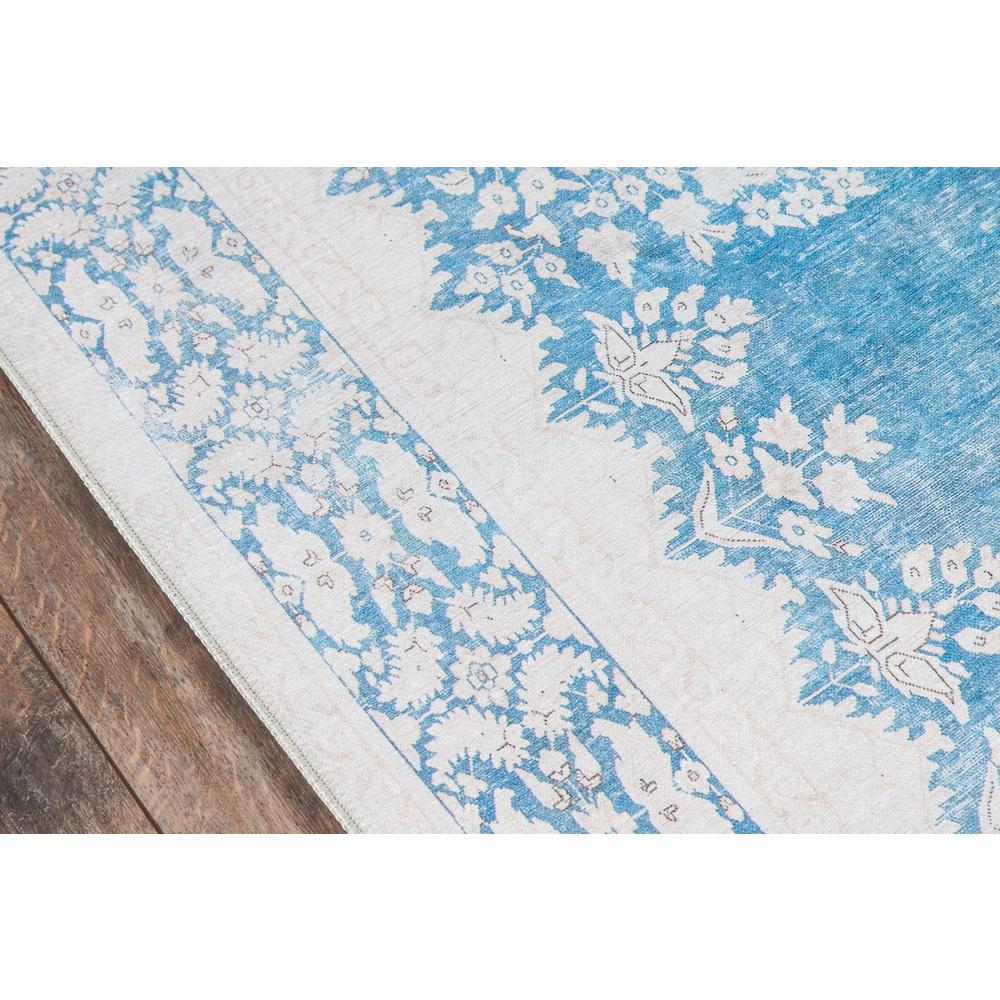 """Afshar Area Rug, Blue, 2'3"""" X 7'6"""" Runner. Picture 3"""