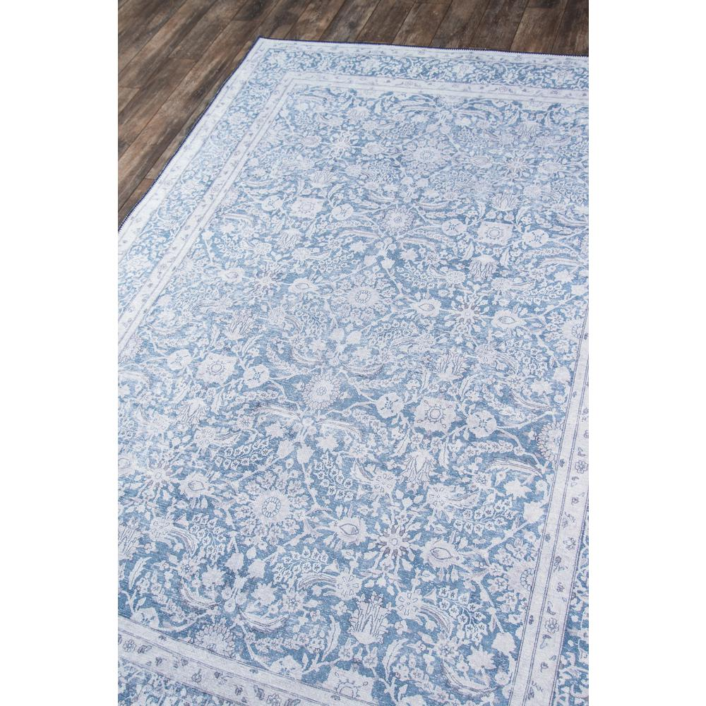 """Afshar Area Rug, Blue, 2'3"""" X 7'6"""" Runner. Picture 2"""