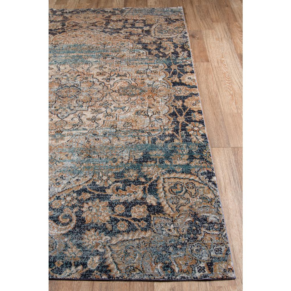 "Amelia Area Rug, Navy, 2'3"" X 7'6"" Runner. Picture 2"