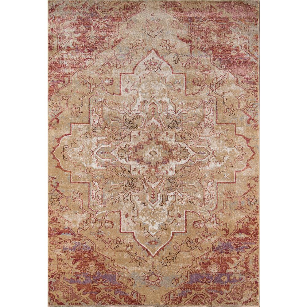 "Amelia Area Rug, Rose, 2'3"" X 7'6"" Runner. Picture 1"