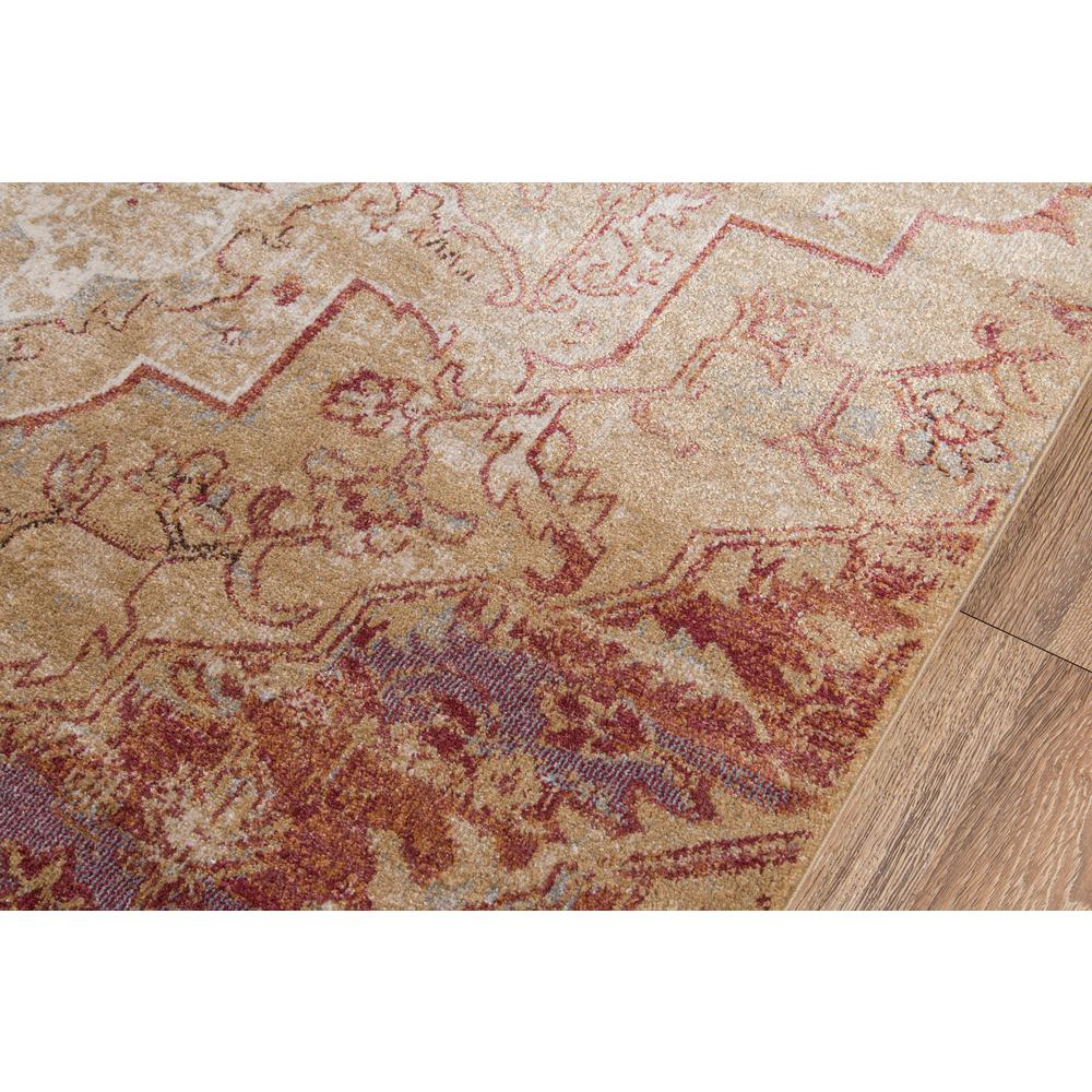 "Amelia Area Rug, Rose, 2'3"" X 7'6"" Runner. Picture 3"