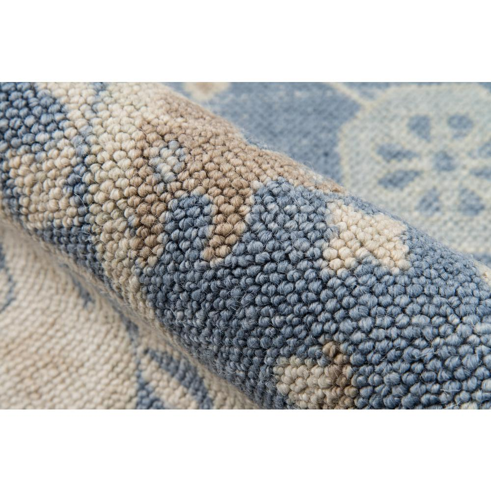 """Anatolia Area Rug, Light Blue, 2'3"""" X 7'6"""" Runner. Picture 4"""
