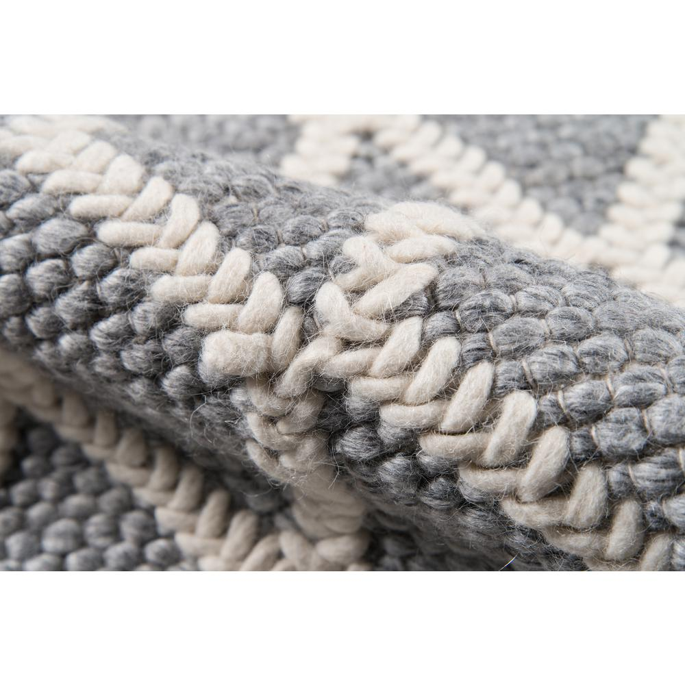 """Andes Area Rug, Grey, 2'3"""" X 8' Runner. Picture 4"""