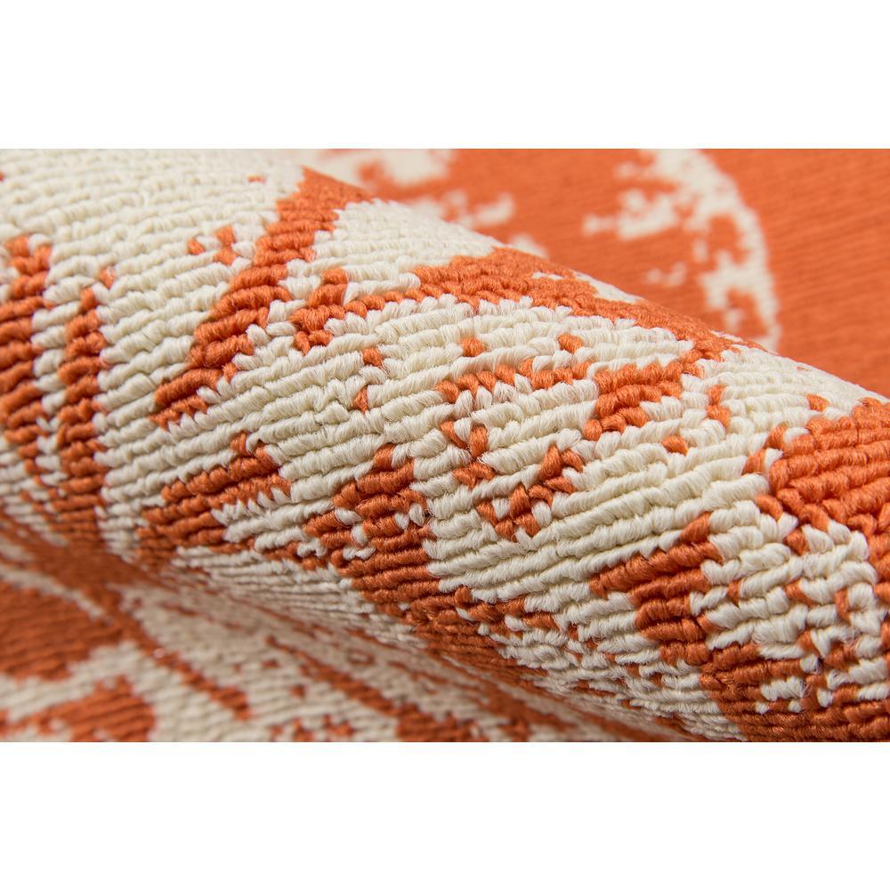 "Baja Area Rug, Orange, 2'3"" X 4'6"". Picture 4"