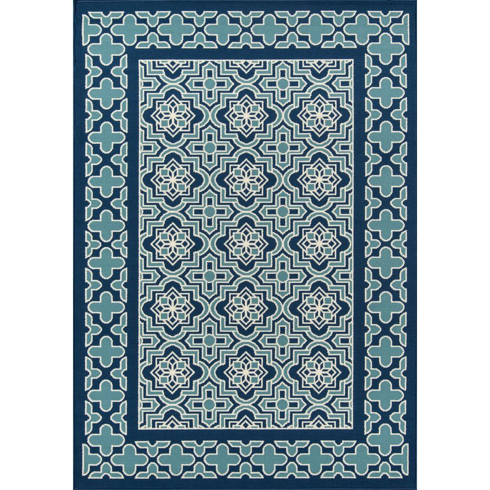 "Baja Area Rug, Blue, 2'3"" X 4'6"". The main picture."