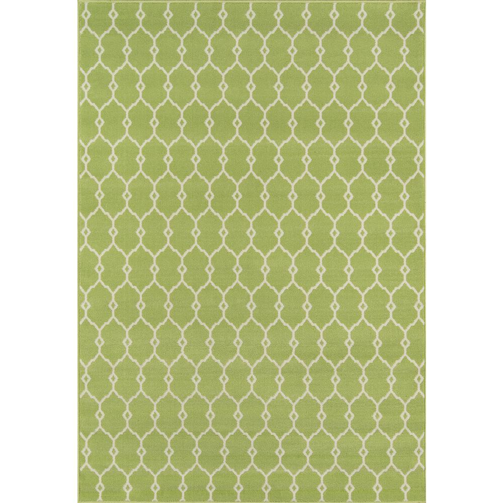 """Baja Area Rug, Green, 2'3"""" X 4'6"""". Picture 1"""