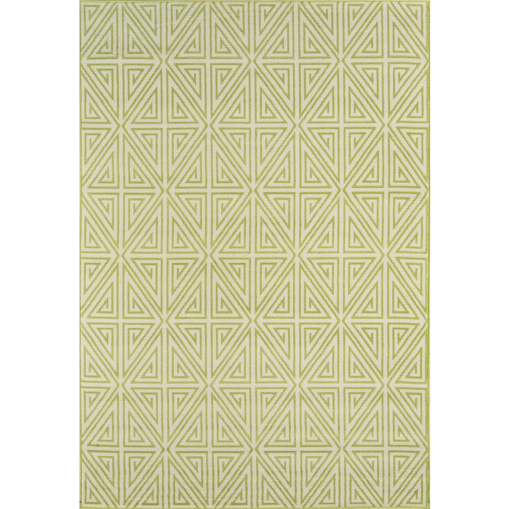 "Baja Area Rug, Green, 2'3"" X 4'6"". The main picture."