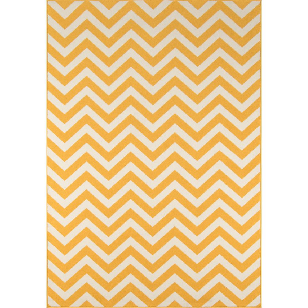 "Baja Area Rug, Yellow, 2'3"" X 4'6"". Picture 1"