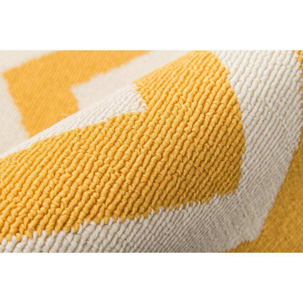 "Baja Area Rug, Yellow, 2'3"" X 4'6"". Picture 4"