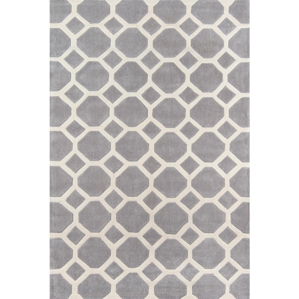 """Bliss Area Rug, Grey, 2'3"""" X 8' Runner. Picture 1"""