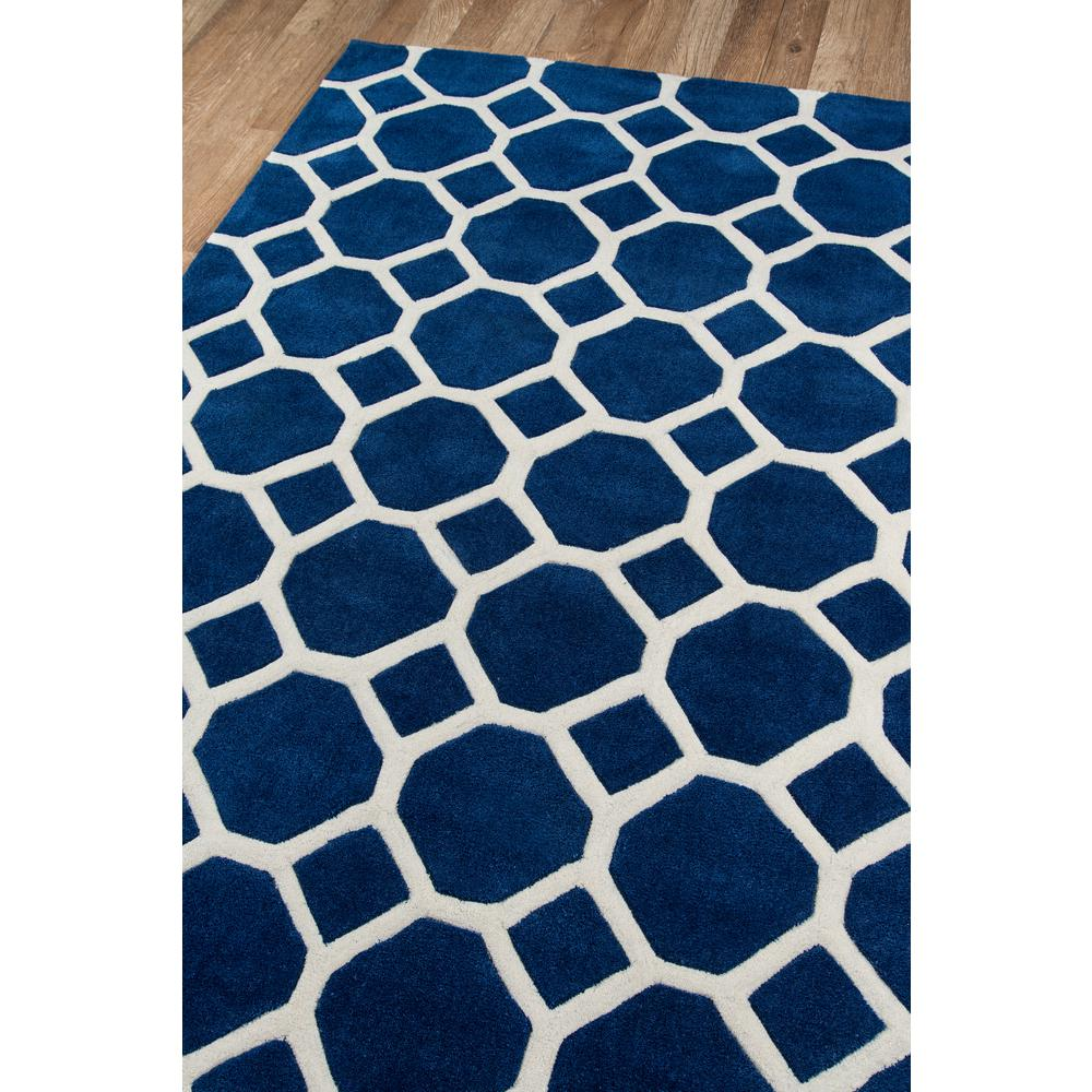 """Bliss Area Rug, Navy, 2'3"""" X 8' Runner. Picture 2"""
